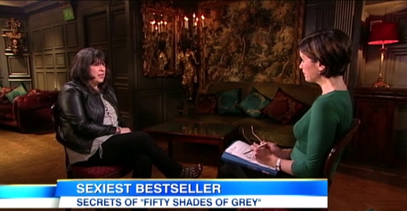 Fifty Shades of Grey Author's First Interview