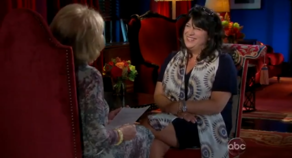 E L James Barbara Walters 2012
