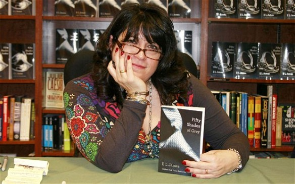 E L James book signing pic